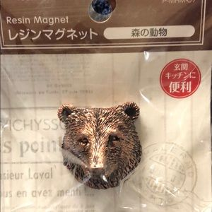 🐻 Resin Bear Magnet